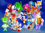 Sonic and his Old Friends and New Friends TV Shows