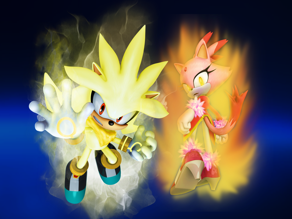 Super Silver and Burning Blaze Fight the Future by 9029561 ...