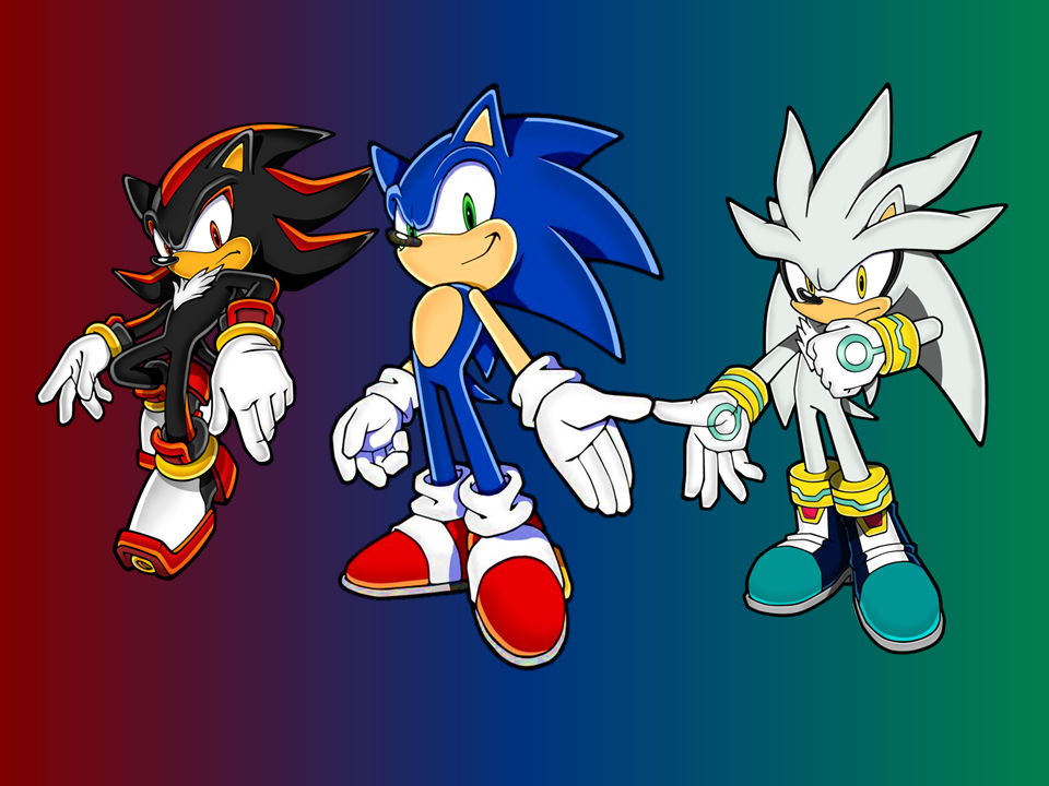 Sonic Shadow And Silver New Wallpaper V2 By 9029561 On Deviantart