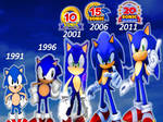 All Anniversary of Sonic the Hedgehog Part 2..