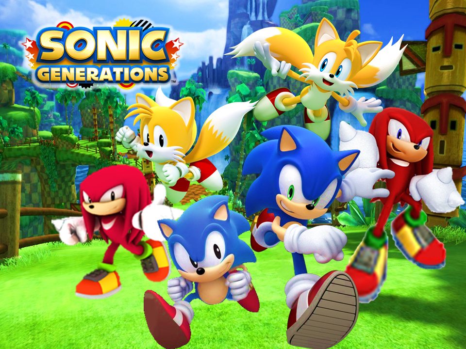 Sonic Generations Classic And Modern Wallpaper 1 By 9029561