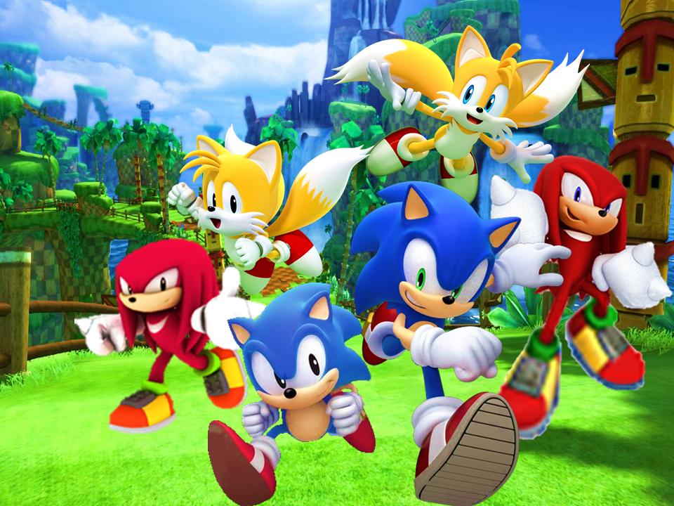 Sonic Generations Classic and Modern Wallpaper 2 by 9029561