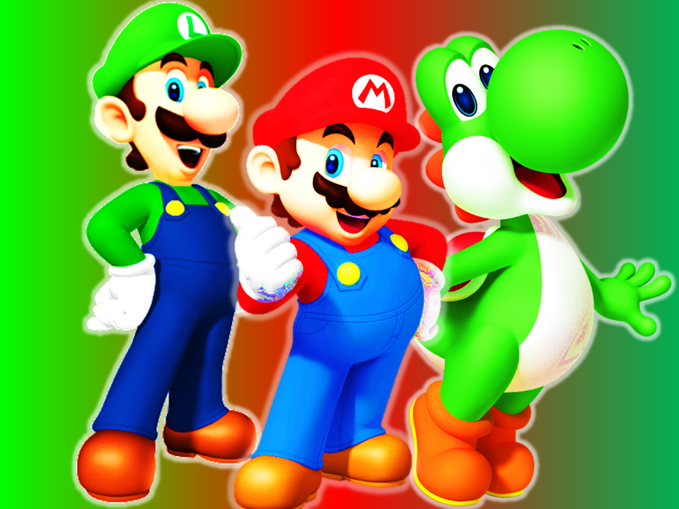 Mario luigi and yoshi wallpaper by 9029561 on deviantart mario luigi and yoshi wallpaper by 9029561 altavistaventures Gallery