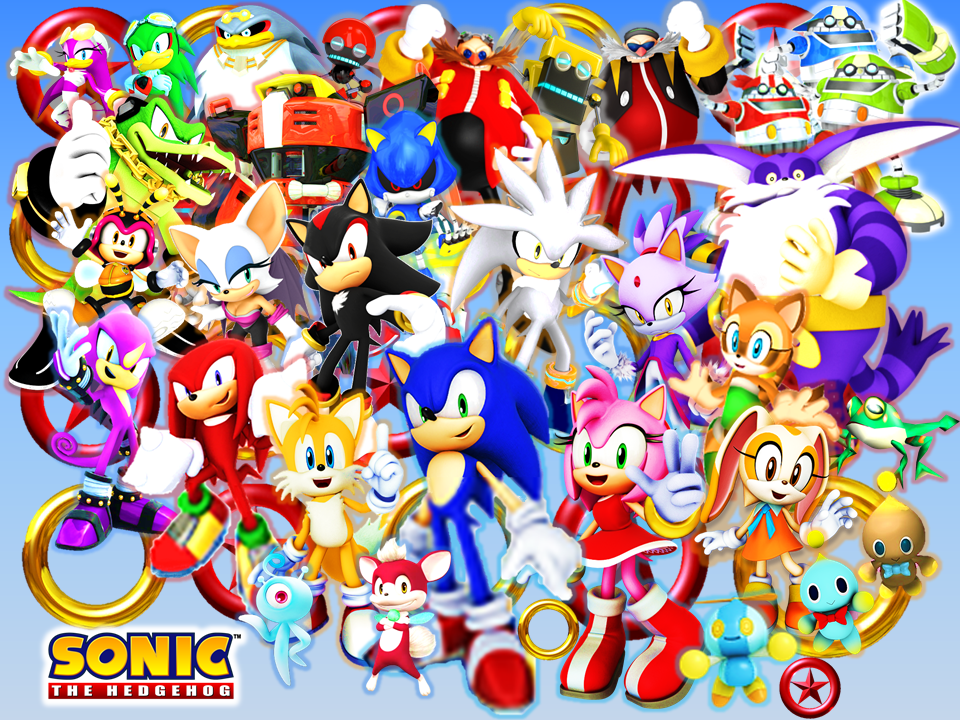 Sonic And His Friends Rivals And Bosses Final By 9029561