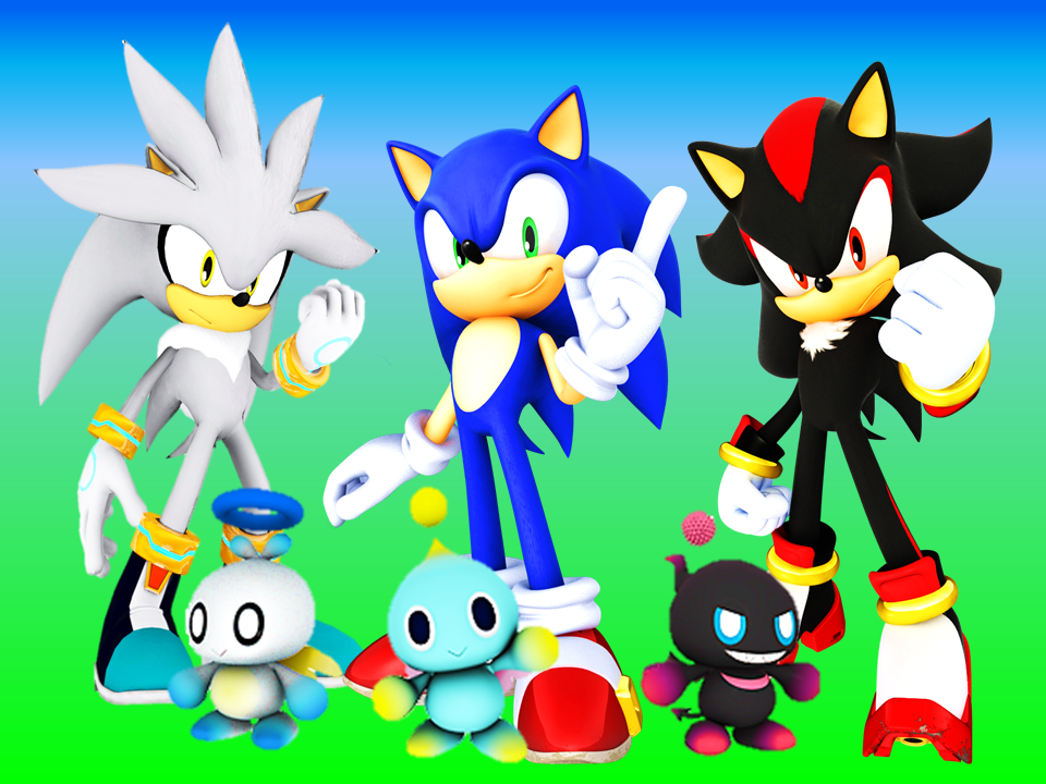 sonic tails and knuckles wallpaper