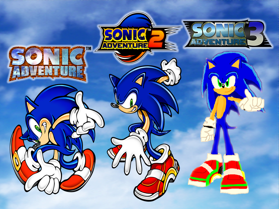 Sonic Adventure Generations by 9029561 on DeviantArt