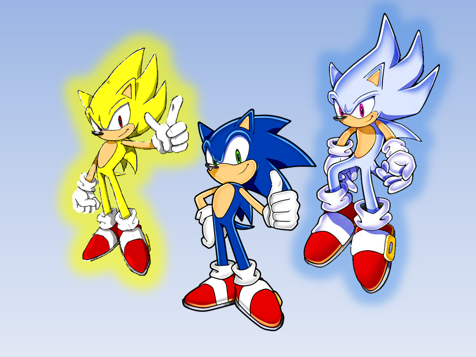 Sonic Super And Hyper Wallpaper By 9029561