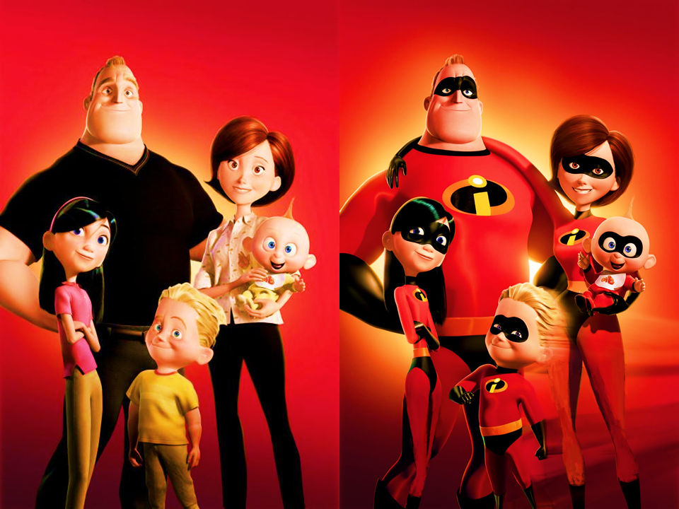 Incredibles Family By 9029561 On Deviantart