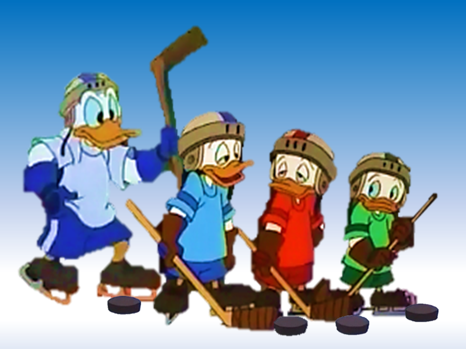 Quack Pack Donald Huey...