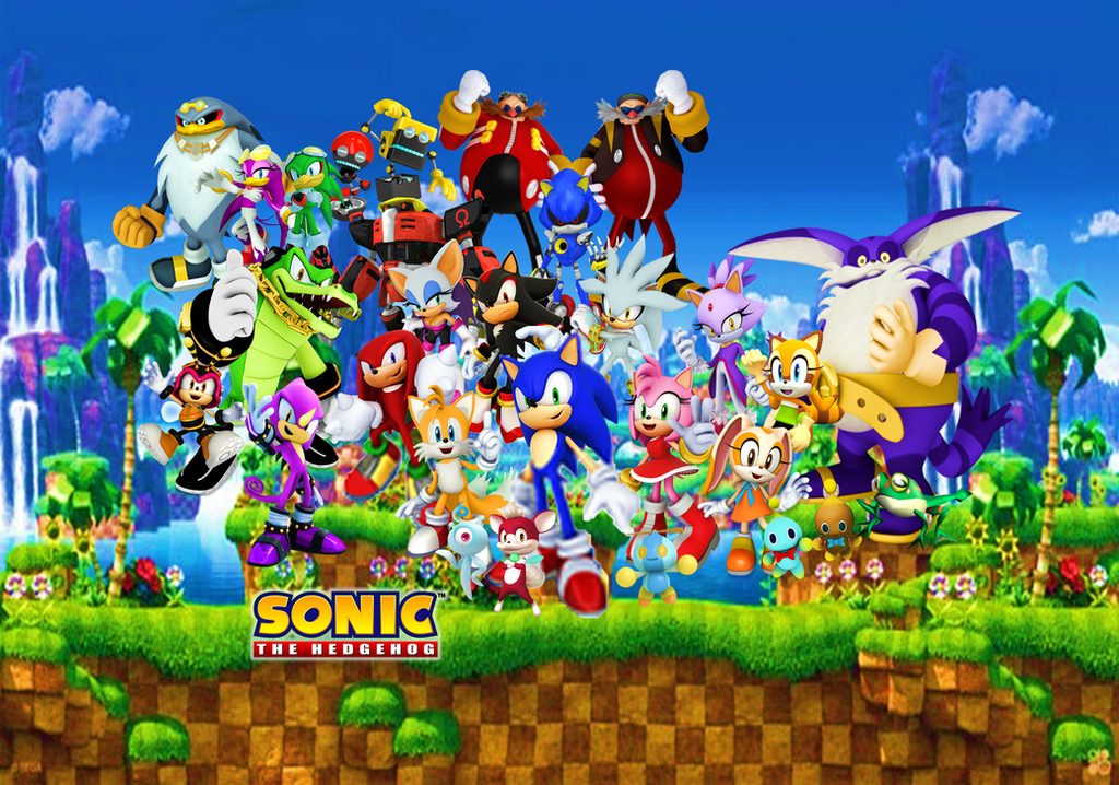 Sonic The Hedgehog Final Wallpaper Background By 9029561