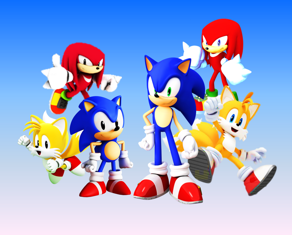 classic and modern team sonic by 9029561 on deviantart