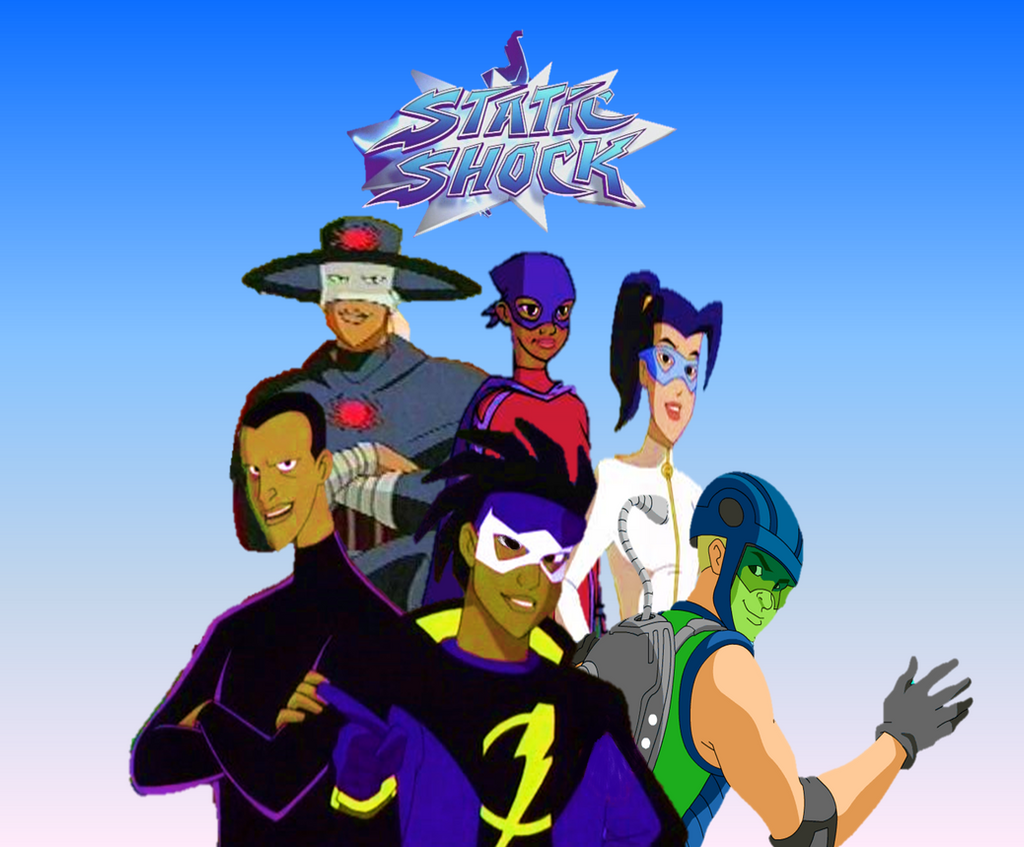 how to draw static shock