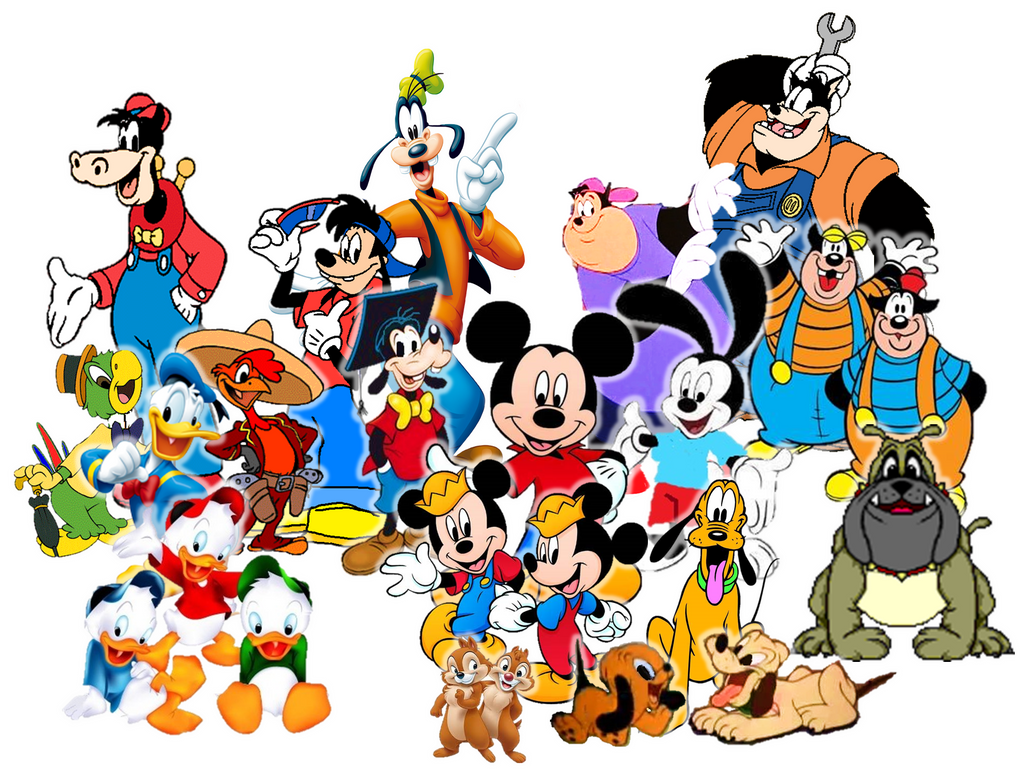 disney mickey friends pals and family by 9029561 on deviantart