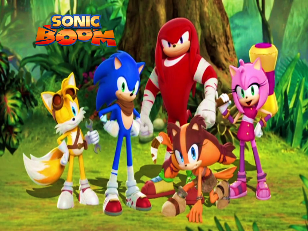 Sonic Boom 2014 And The New Character By 9029561 On DeviantArt