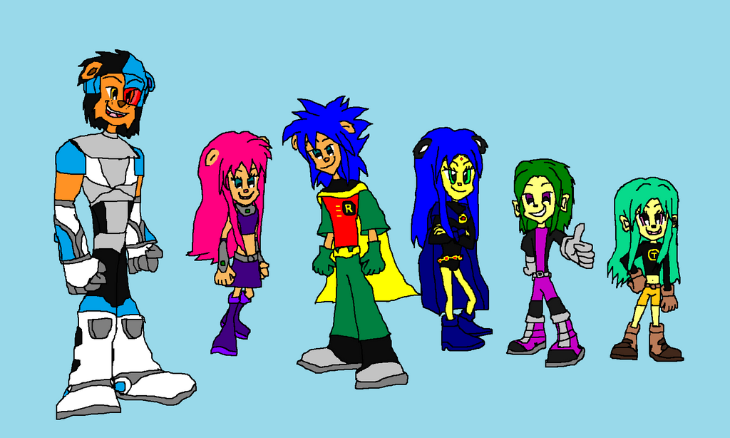 Teen Titans Dress Up Game 8