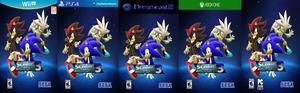 Sonic Adventure 3 All Box Art
