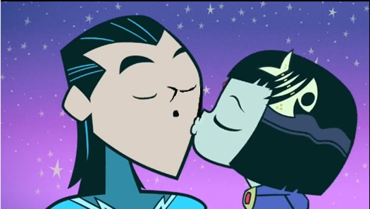 Teen Titans by 9029561 on DeviantArt Beastboy And Raven Kiss Episode
