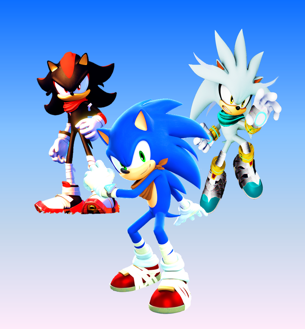Sonic, Shadow and Silver BOOM Wallpaper by 9029561 on ...