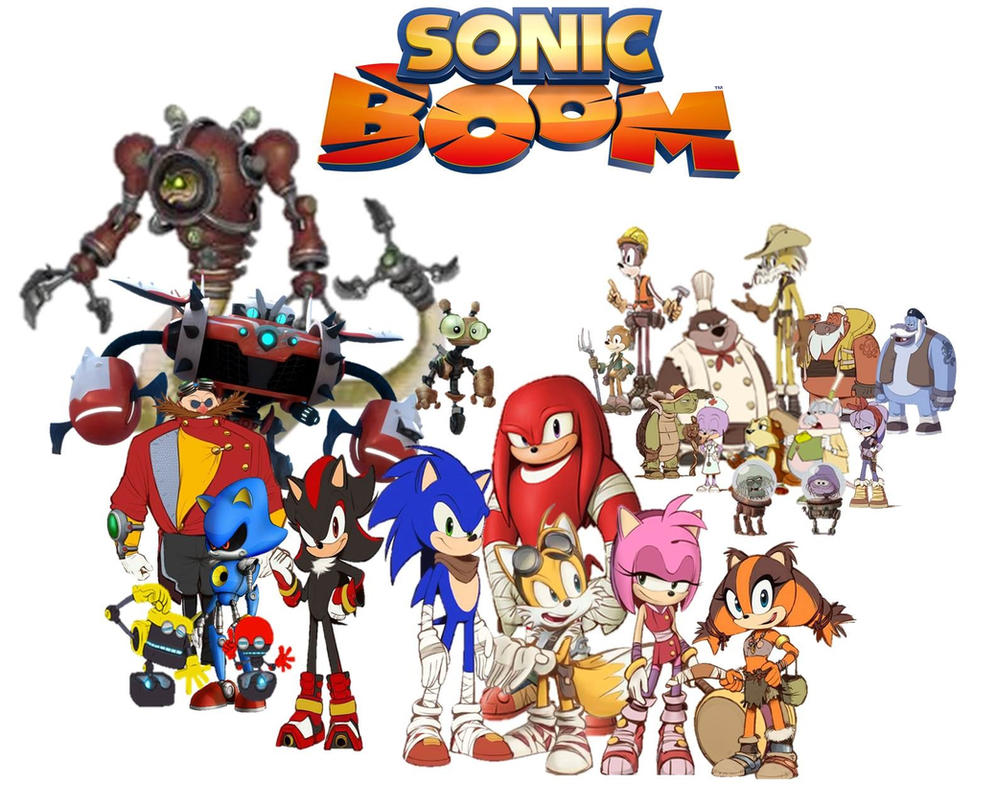 Sonic Boom Rise Of Lyric And Shattered Crystal . By