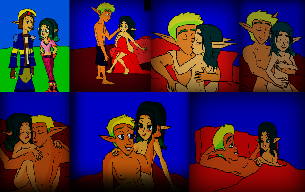 ! ! ! Jak and Keira Hagai Love Scene Story by 9029561