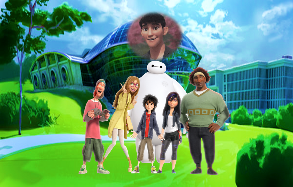 Big Hero 6 Hiro Baymax And His Friends Forever By 9029561