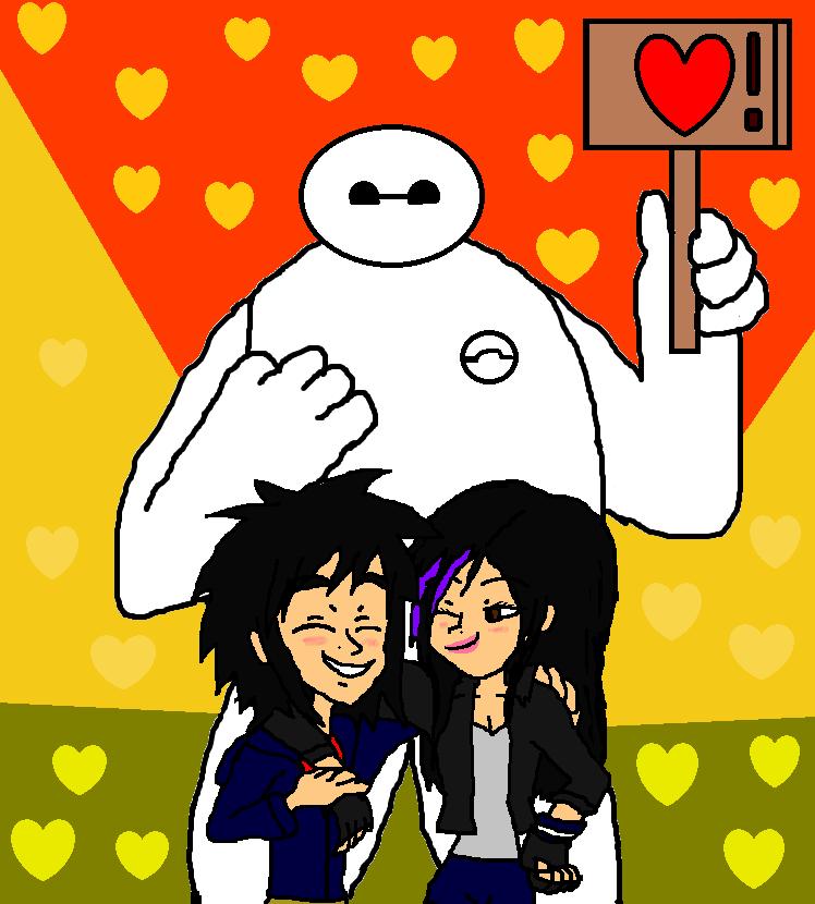 Hiro And Gogo Fanart