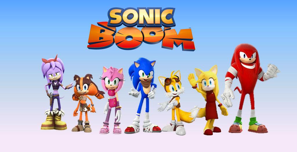 Sonic Boom (TV Series) Wallpaper by 9029561 on DeviantArt
