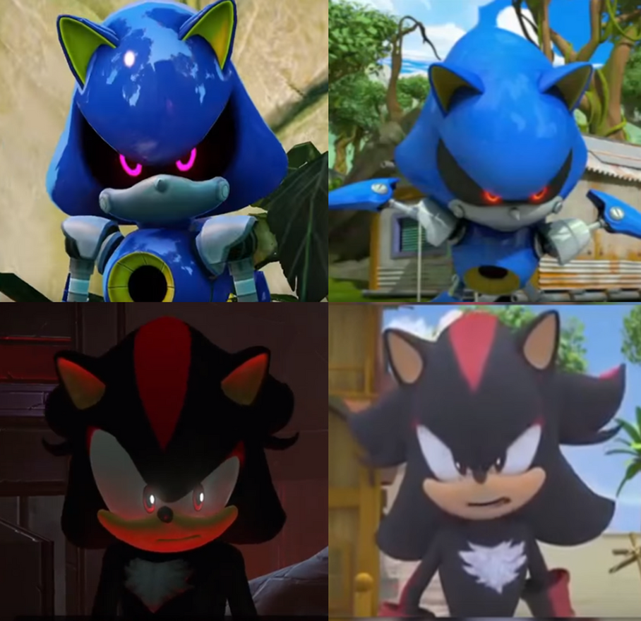 Metal sonic and shadow in sonic tv show video game by 9029561 on deviantart - Shadow sonic boom ...