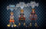 Kingdom Hearts I, II and III Sora
