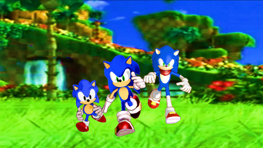 Classic Sonic Modern Boom Wallpaper By 9029561