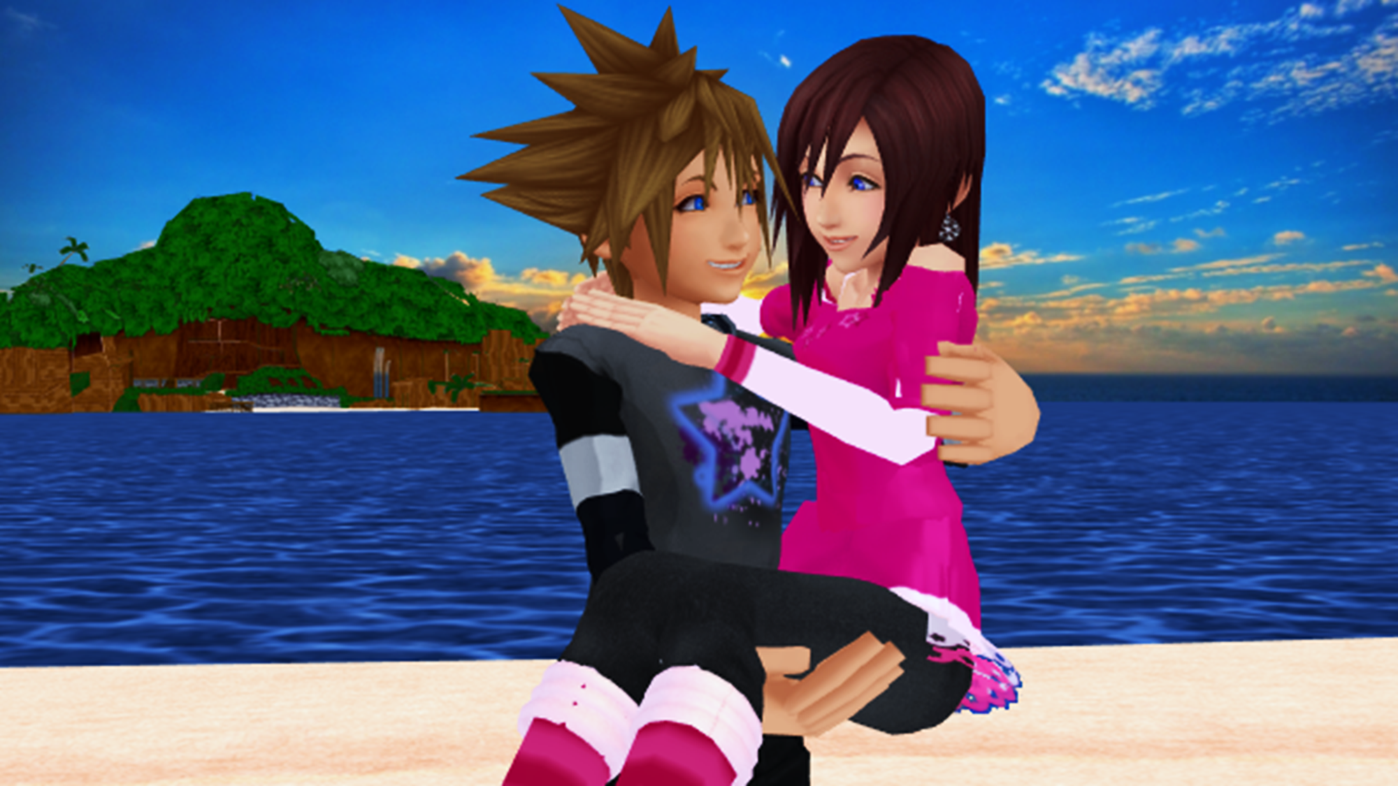 Sora Having Sex With Kairi 12