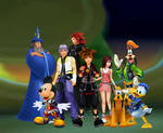 Kingdom Hearts 2.8 and III Friends are their power