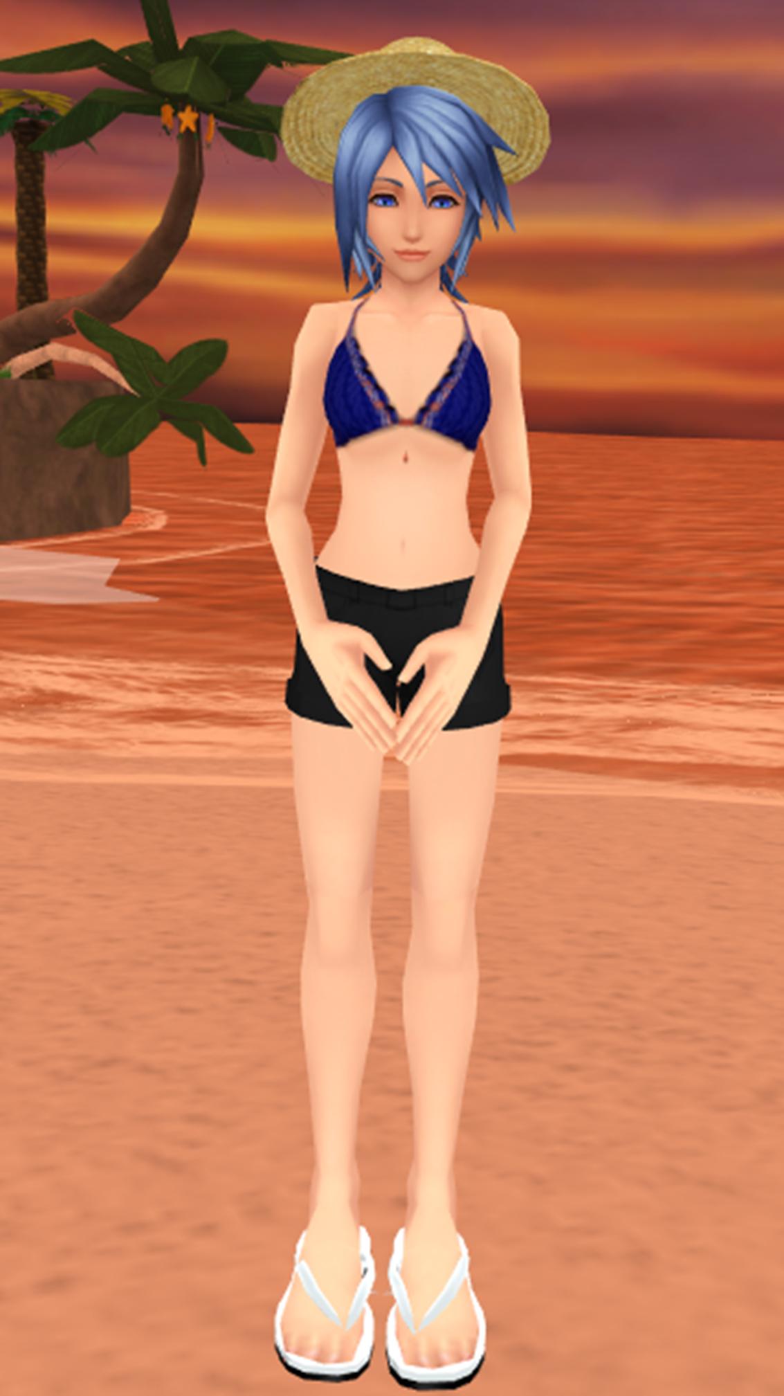 aqua girl naked
