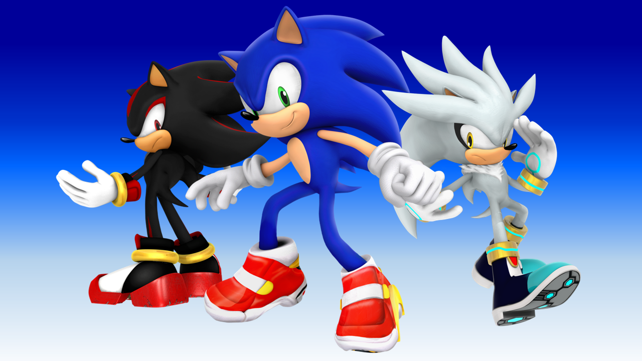 Sonic Shadow And Silver The Hedgehog 25th By 9029561 On Deviantart