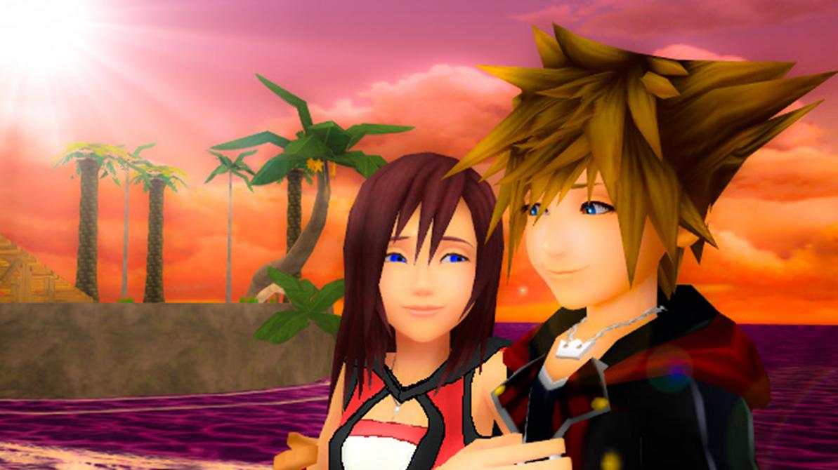 We Made a Promise Sora x Kairi KH3... by 9029561 on DeviantArt