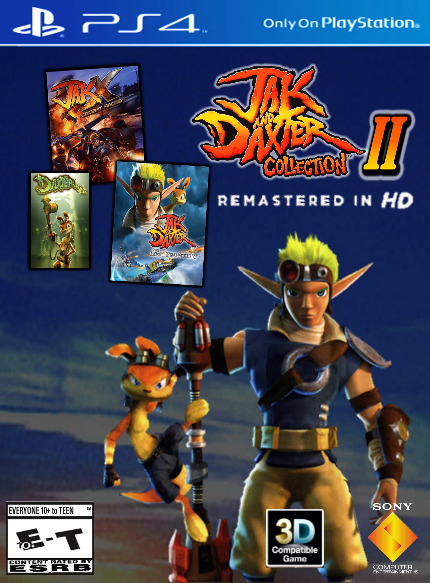 Jak And Daxter Collection Ii Ps4 Remastered Hd By 9029561 On