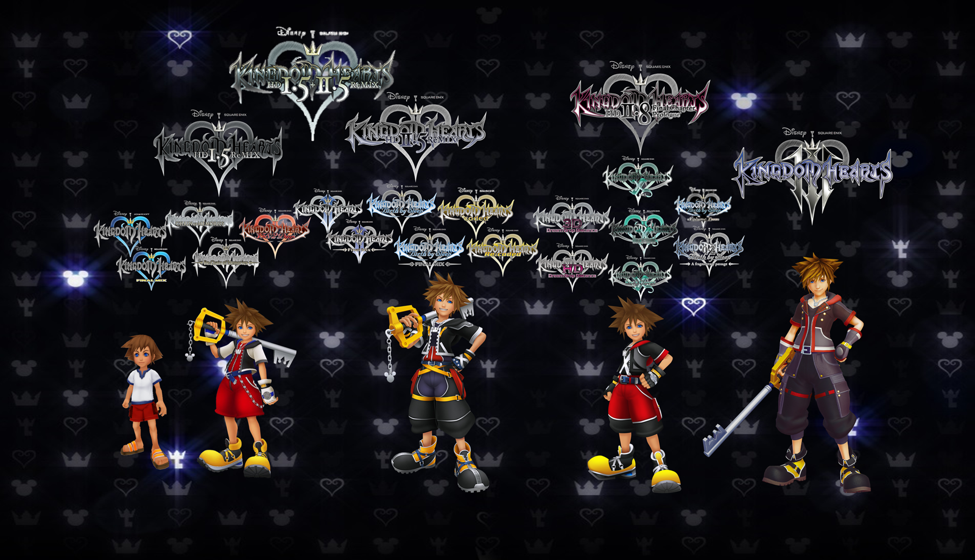 Order to Play Kingdom Hearts Games - Samantha Lienhard