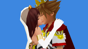 The Royal Highness Prince Sora x Princess Kairi