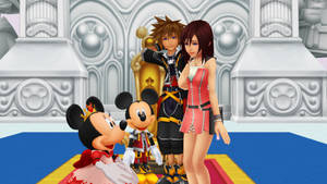 You Always Here to Welcome in Disney Castle Kairi