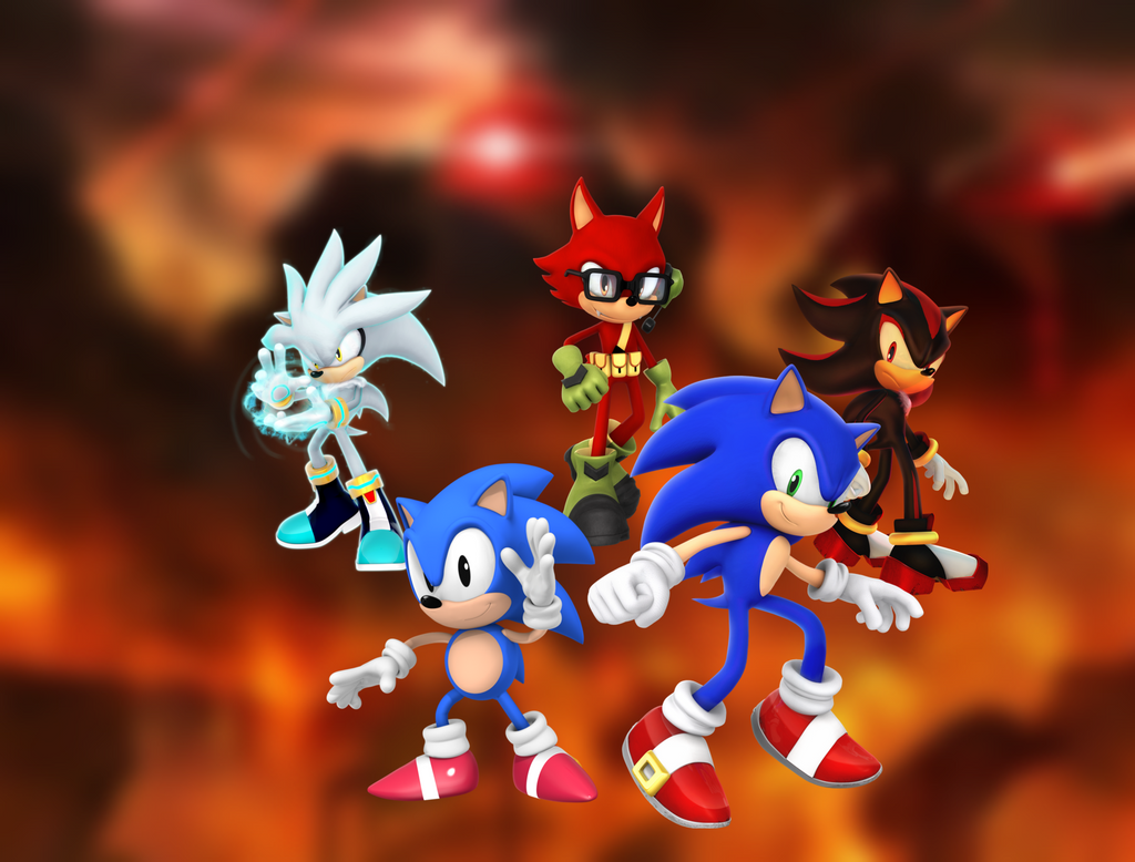 Sonic Forces Wallpaper 2017 Rising Hero by 9029561 on ...