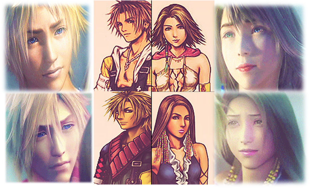 FF X 2 Tidus Yuna And Shuyin Lenne Wallpaper By 9029561