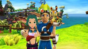Jak And Daxter Keira And Samos Sandover Village By 9029561 On Deviantart