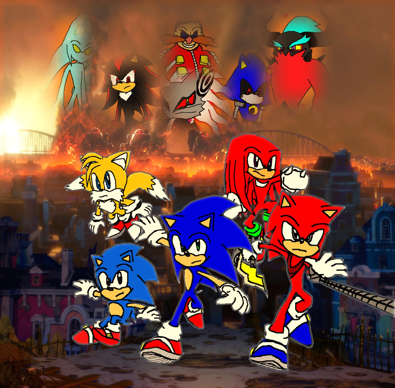 Sonic Forces Resistance Vs Eggman Empire By 9029561 On Deviantart