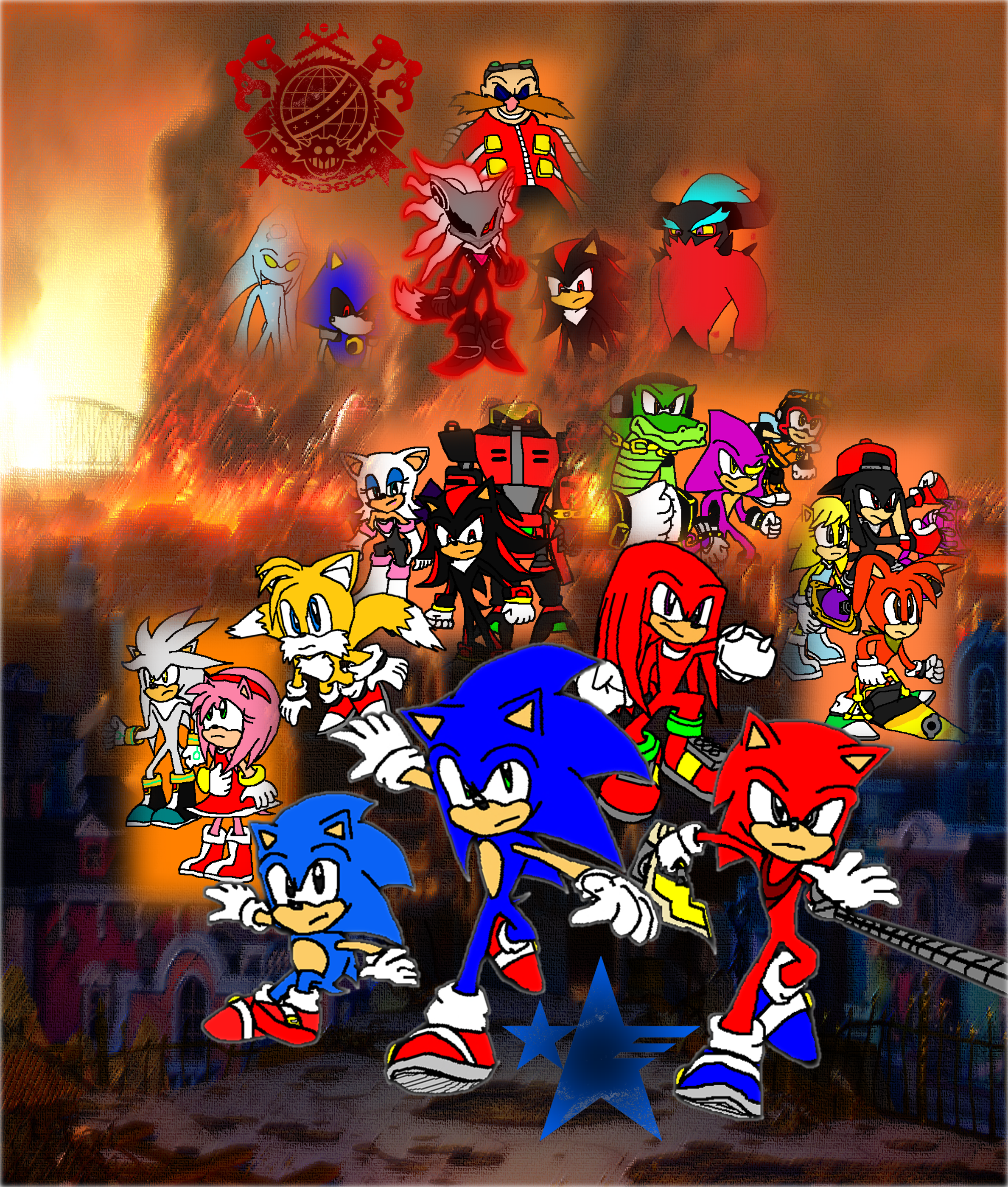 Sonic Forces Resistance Uprising Vs Eggman Empire By 9029561 On Deviantart