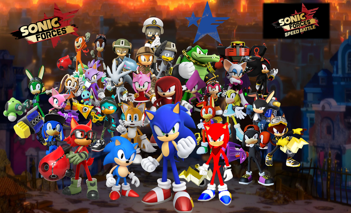 Sonic Forces Heroes The Resistance Uprising II by 9029561 ...