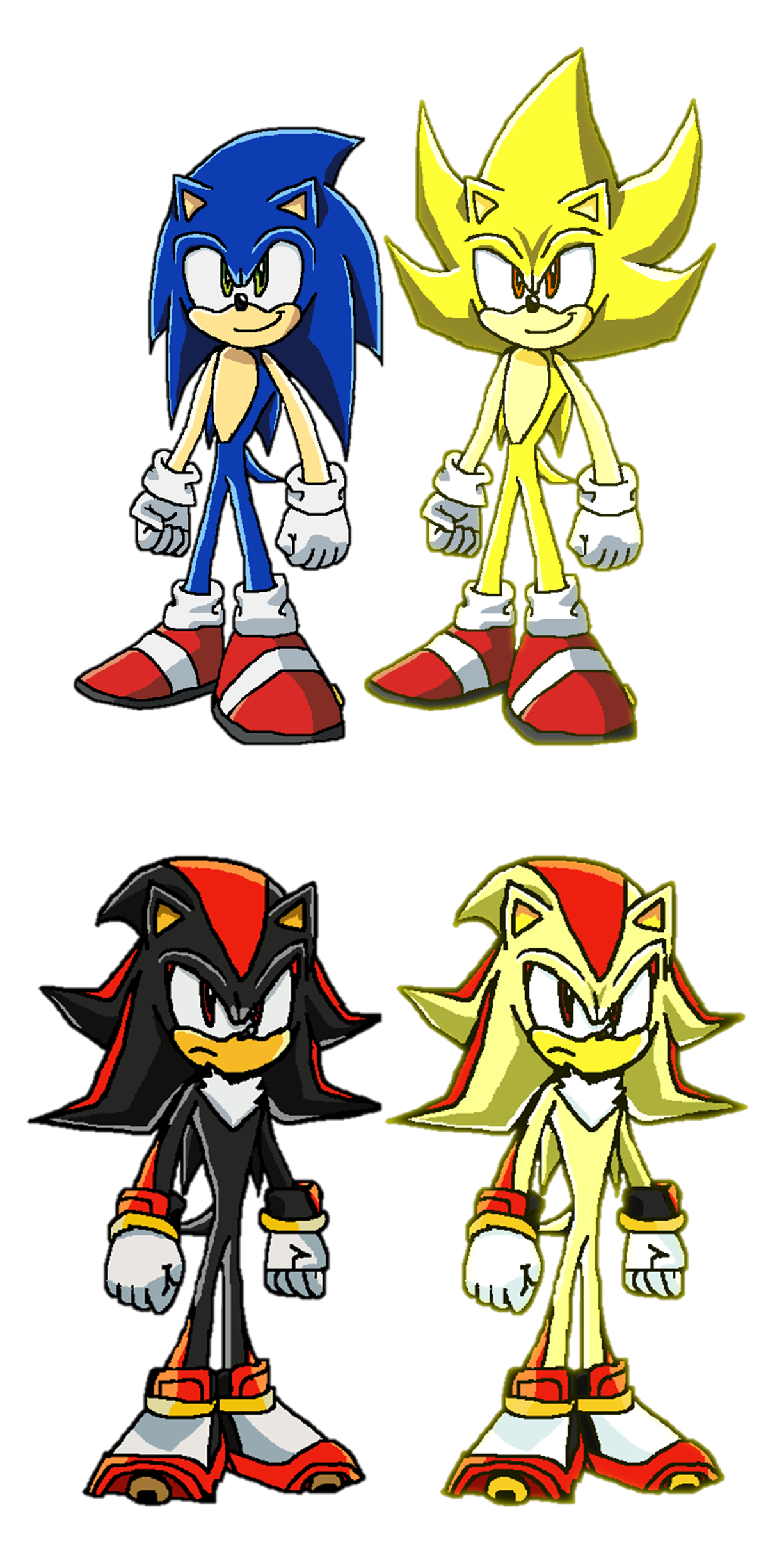 Super sonic the hedgehog by 9029561 on deviantart - Sonic et shadow ...