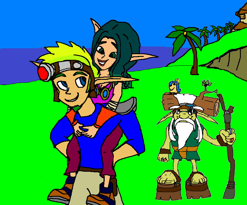 Jak Take My Daughter Jak And Samos Keira Hagai By 9029561 On Deviantart