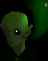 Gnome Warlock- Adrian Quill