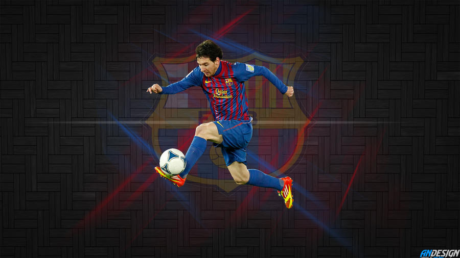Leo Messi Wallpaper By AN Design