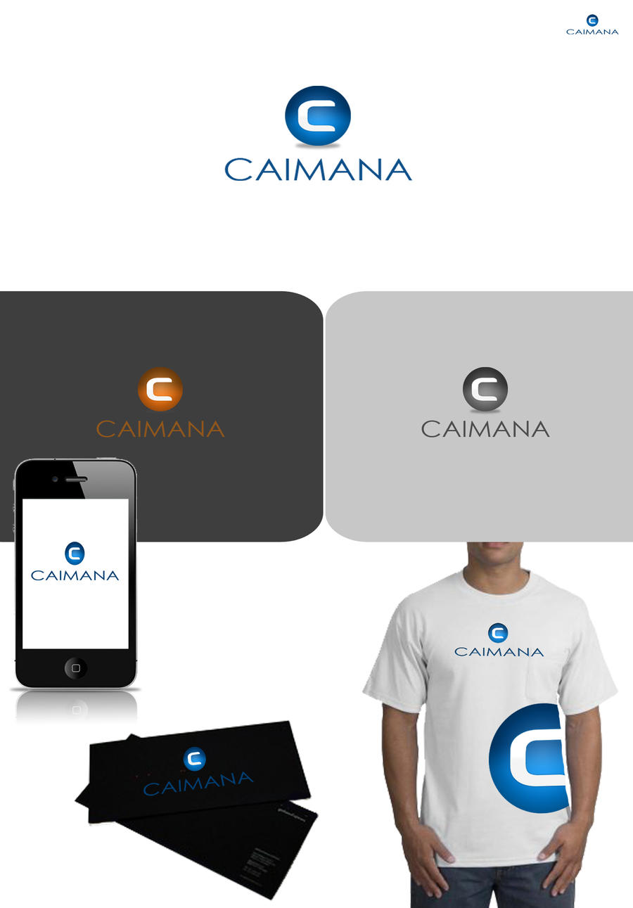 caimana logo presentation by an design on deviantart